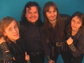 HD, состав №2 - слева на право - Дрюйка, Ден, JT, Chris