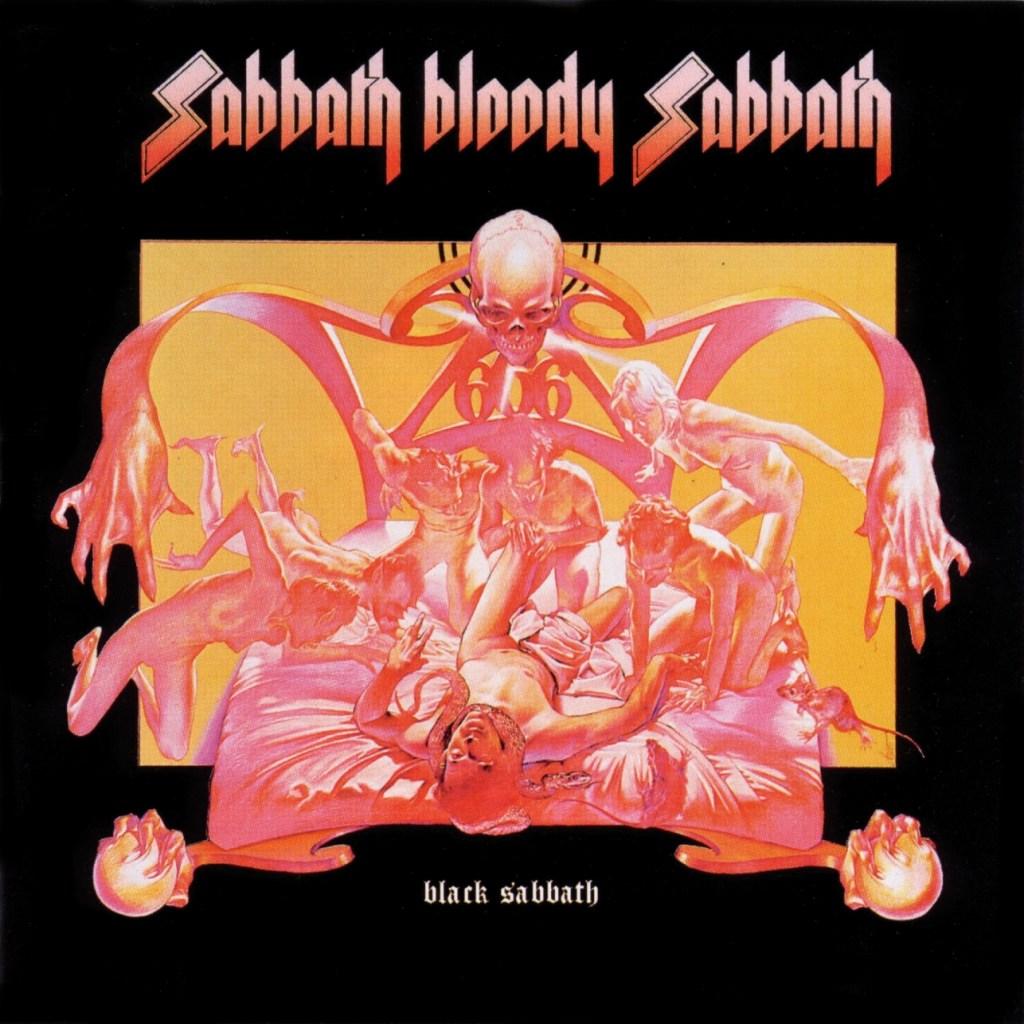 Arte de portadas de discos Sabbathbloodysabbath