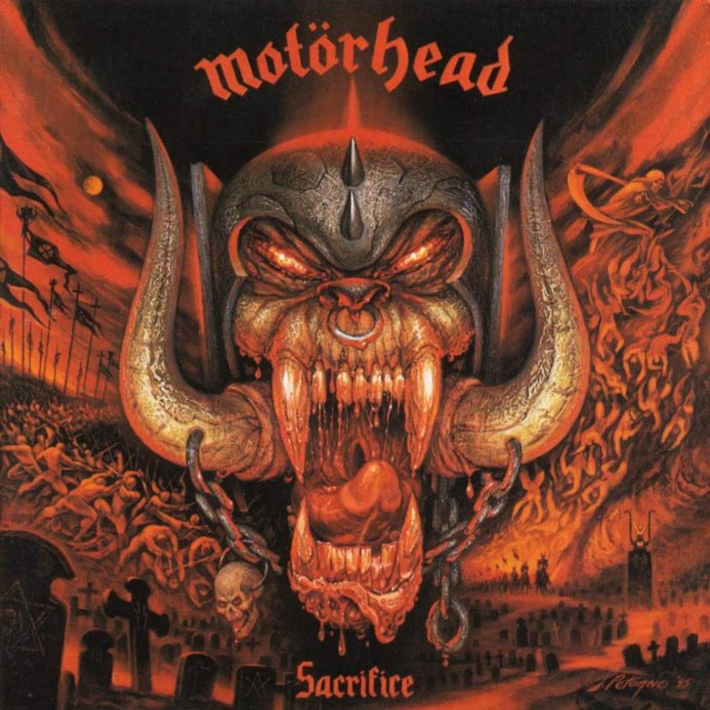 the game motorhead album cover
